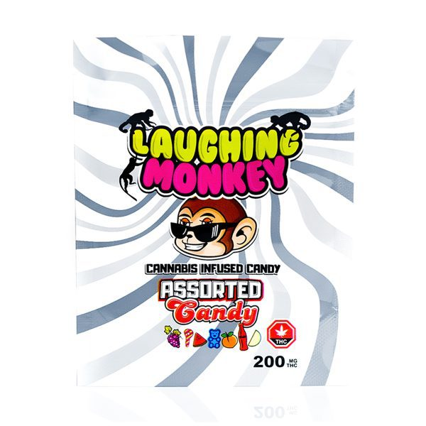 BUy Assorted 200MG Gummy By Laughing Monkey