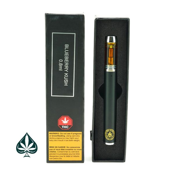 Blueberry Kush Indica 0.8ML Disposable Pen By So High Extracts