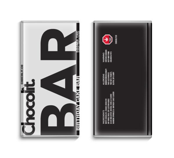 Buy BIRTHDAY CAKE 500MG THC BAR By Chocolit