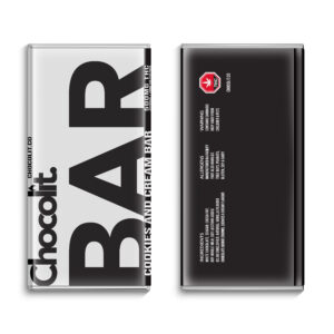 Buy COOKIES AND CREAM 500MG THC BAR By Chocolit