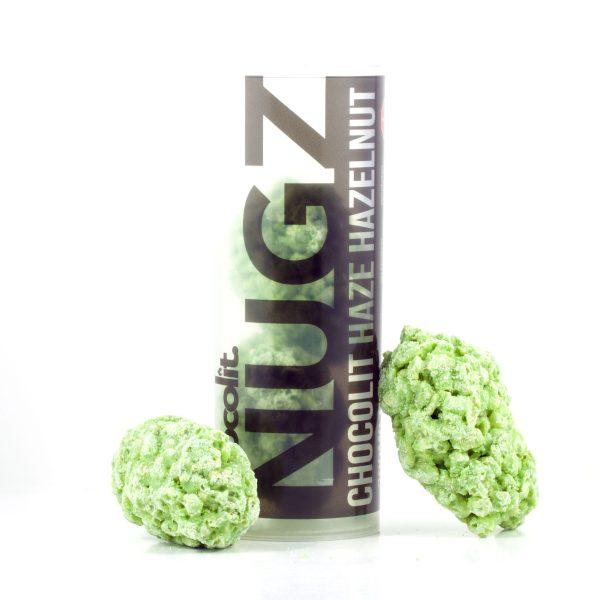 Buy HAZE HAZELNUT 200MG THC NUGZ By Chocolit