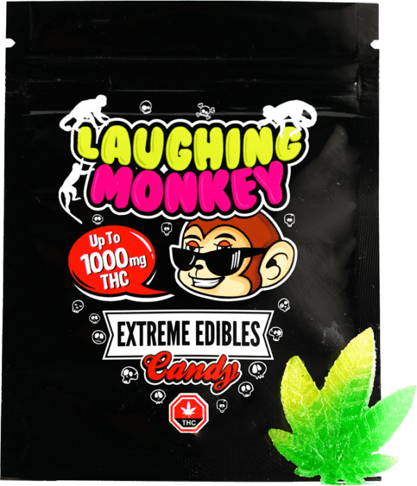Extreme Edible 1000MG Gummy By Laughing Monkey
