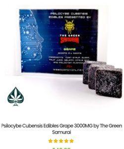 Psilocybe Cubensis Edibles Grape 3000MG by The Green Samurai