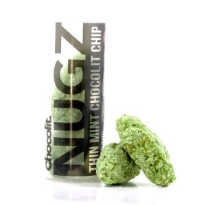Buy THIN MINT CHOCOLIT CHIP 200MG THC NUGZ By Chocolit