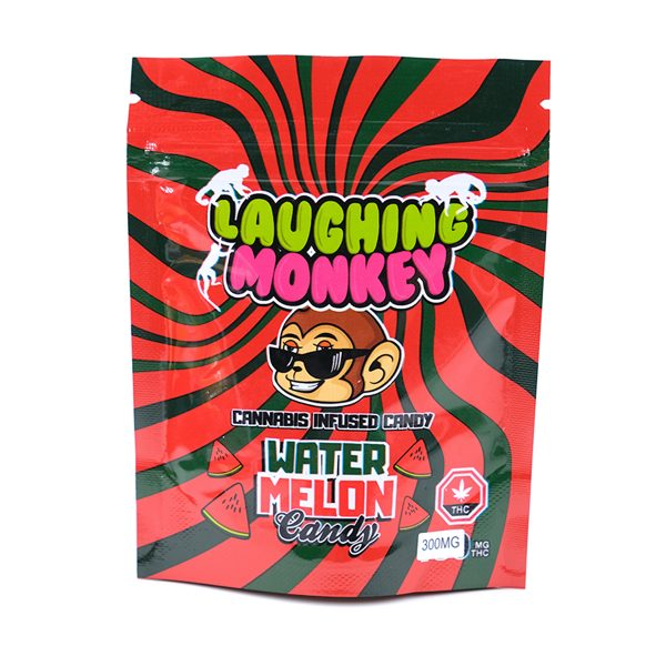 Buy Watermelon 300MG Gummy By Laughing Monkey