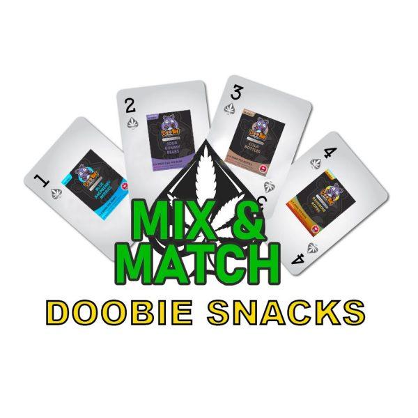 doobie snacks cannabis edibles mix