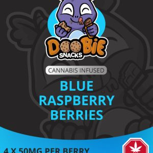 buy weed edibles doobie snacks blue raspberry