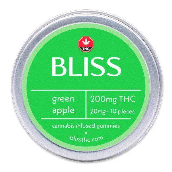Bliss Green Apple 200MG