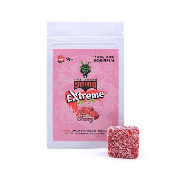 Cherry 300MG THC Gummy By Green Samurai