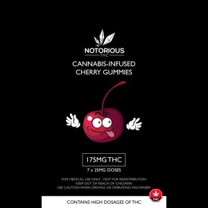 Notorious Edibles - 175MG THC