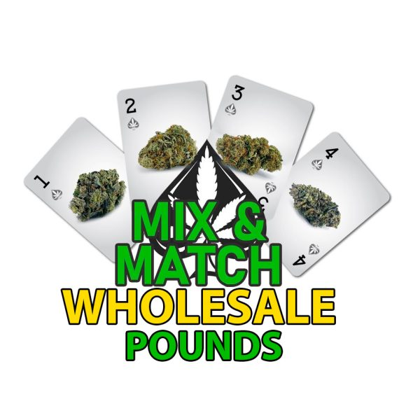 buy bulk mix and match cannabis