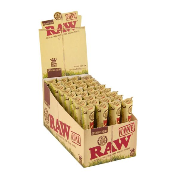 Raw Pre-Roll Paper Cones King Size - 3/Pack