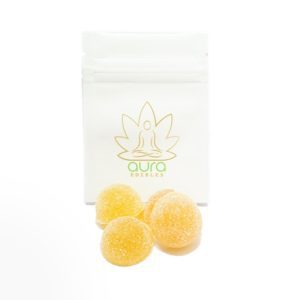 Buy Aura Bomb Orange 200MG THC Indica By Aura Edibles