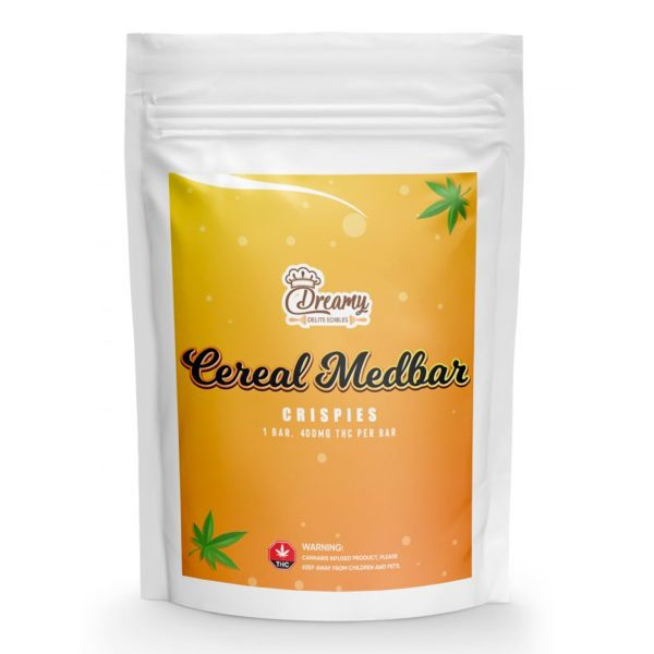 Buy Crispies Cereal Medbars 400MG By Dreamy Delite