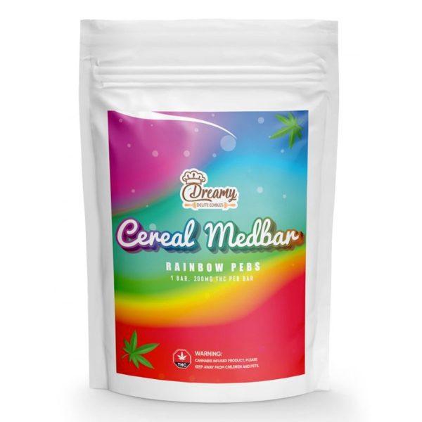 Buy Rainbow Pebs Cereal Medbar 200mg