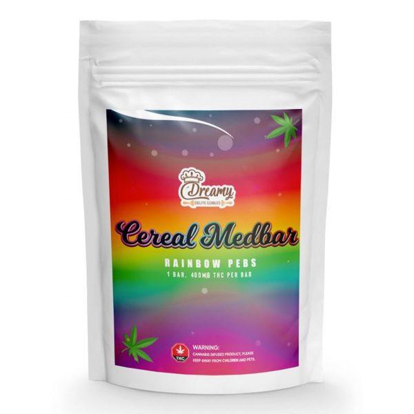 Buy Rainbow Pebs Cereal Medbar 400mg By Dreamy Delite