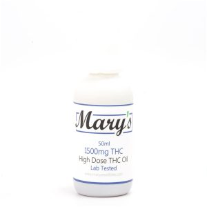 Buy High Dose 1500mg THC Tincture By Mary's Medibles