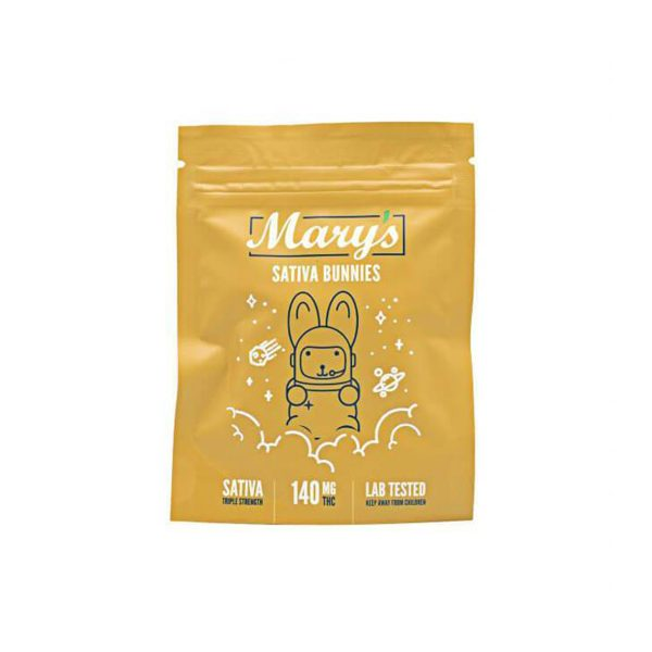 Buy Sativa Bunnies 140mg THC By Mary's Medibles