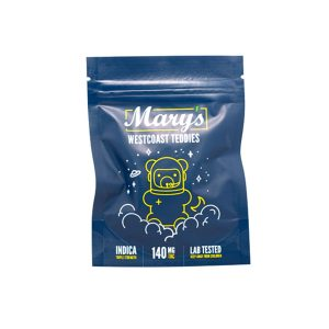 Buy Westcoast Teddies Indica 140mg THC By Mary's Medibles