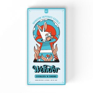Buy Cookies 'N Creme 6G Psilocybin Chocolate Bar By Wonder