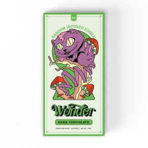 Buy Dark Chocolate 6G Psilocybin Chocolate Bar By Wonder