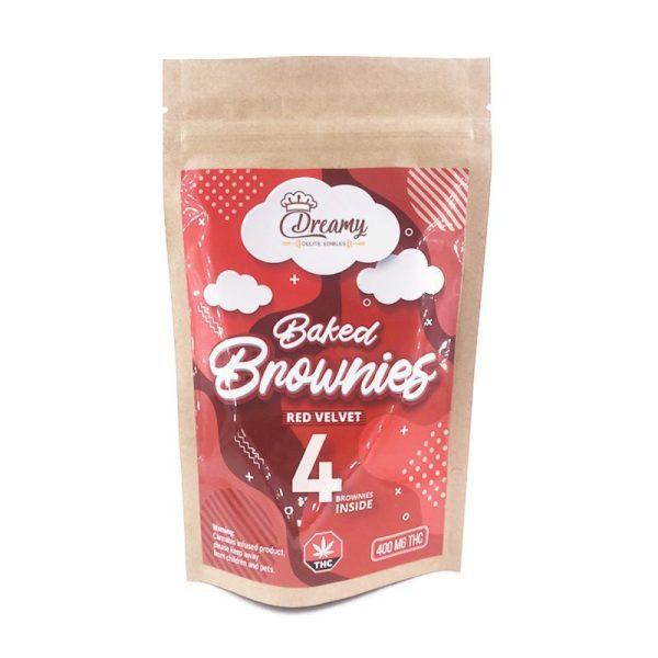 Buy Red Velvet Brownies 400MG THC By Dreamy Delite