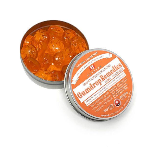 BUy Florida Tangerine Gumdrop Remedies 250CBD:250THC By Cannamo