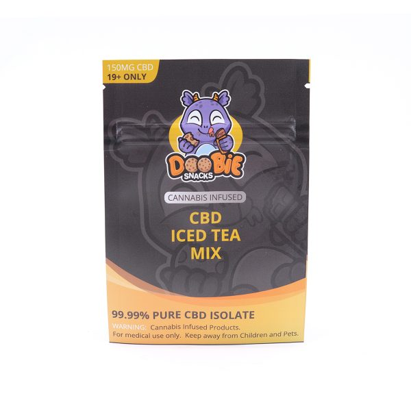 Buy Ice Tea Mix 150mg CBD By Doobie Snacks
