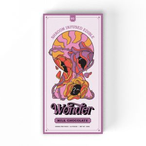 Buy Milk Chocolate 6G Psilocybin Chocolate Bar By Wonder