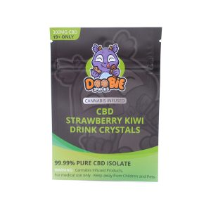 Buy Strawberry Kiwi Crystal Mix 300mg CBD By Doobie Snacks