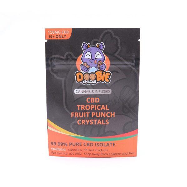Tropical Fruit Punch Crystal Mix 150mg CBD By Doobie Snacks