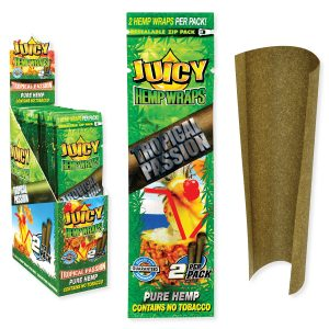 Buy JUICY JAY'S Hemp Wraps Tropical Passion