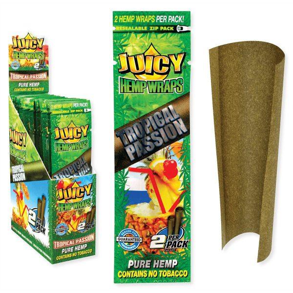 Buy JUICY JAY'S Hemp Wraps Tropical Passion