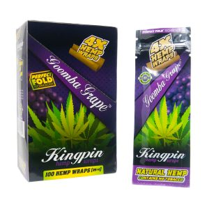 Buy KINGPIN Hemp Wraps Goomba Grape