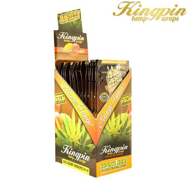 KINGPIN Hemp Wraps Mango Tango