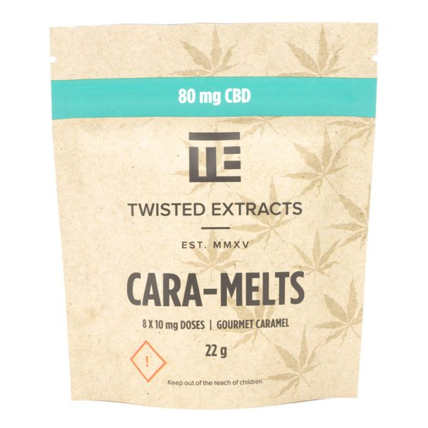 BUy CBD Cara-Melts 80mg By Twisted Extract