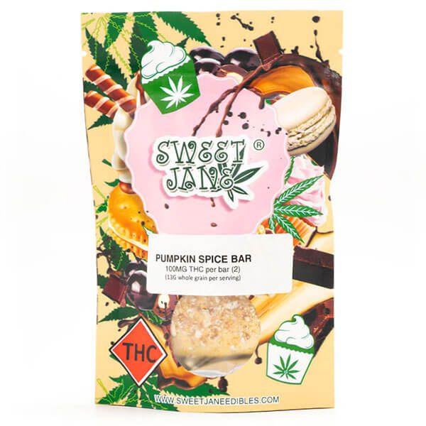 Pumpkin Spice Bar 200mg THC By Sweet Jane