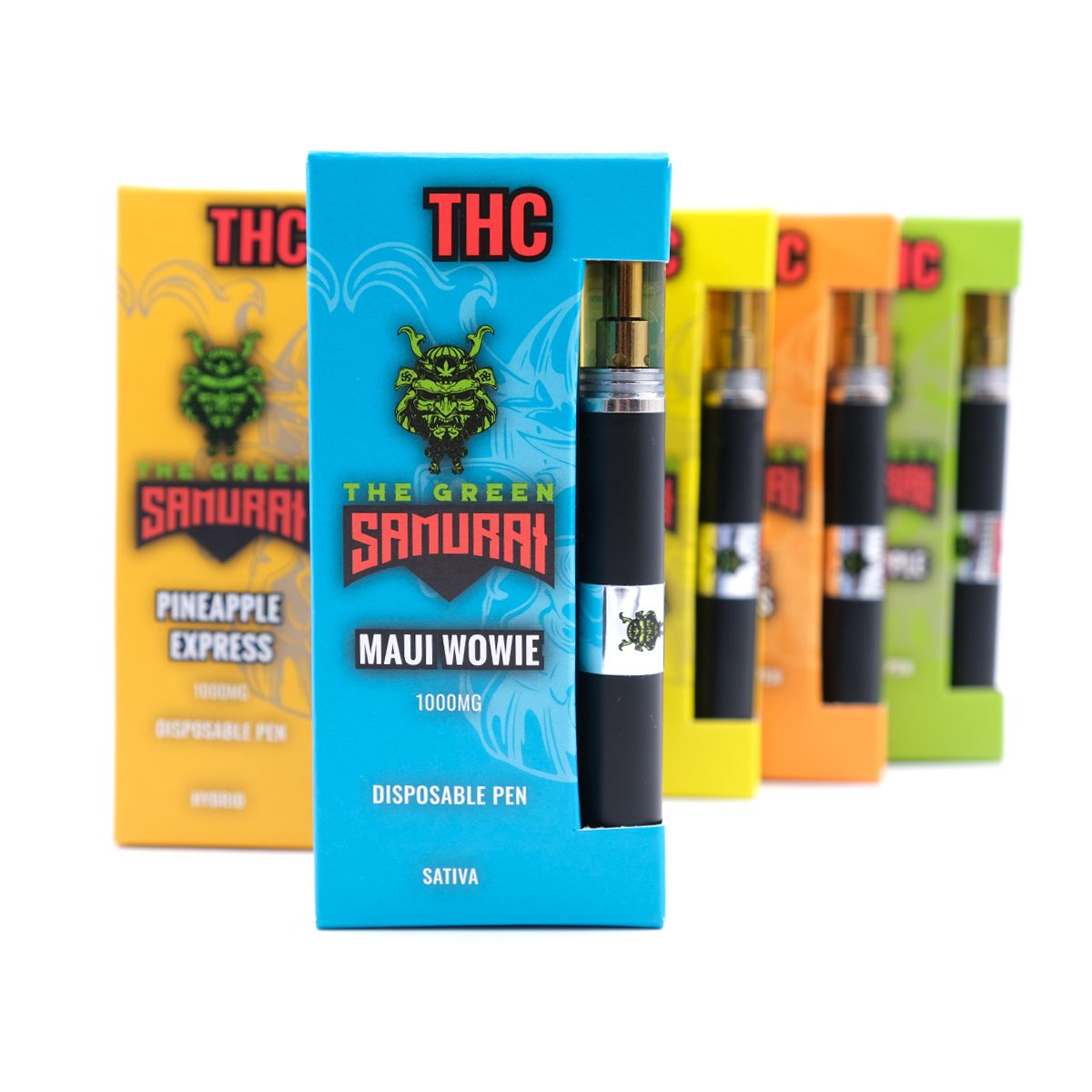 Maui Wowie 1000MG THC Disposable Pen By The Green Samurai