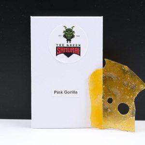 Pink Gorilla Shatter By The Green Samurai