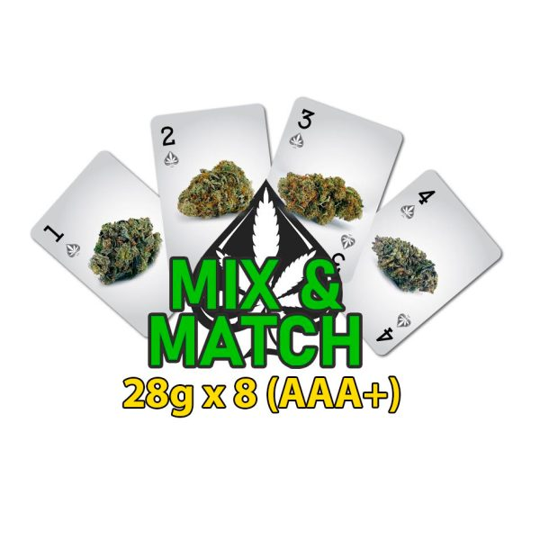 cannabis half pound mix and match