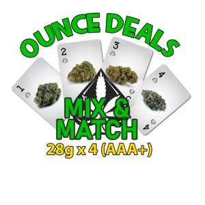 cannabis ounce deal qp mix