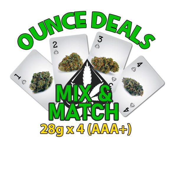 cannabis ounce deal qp mix