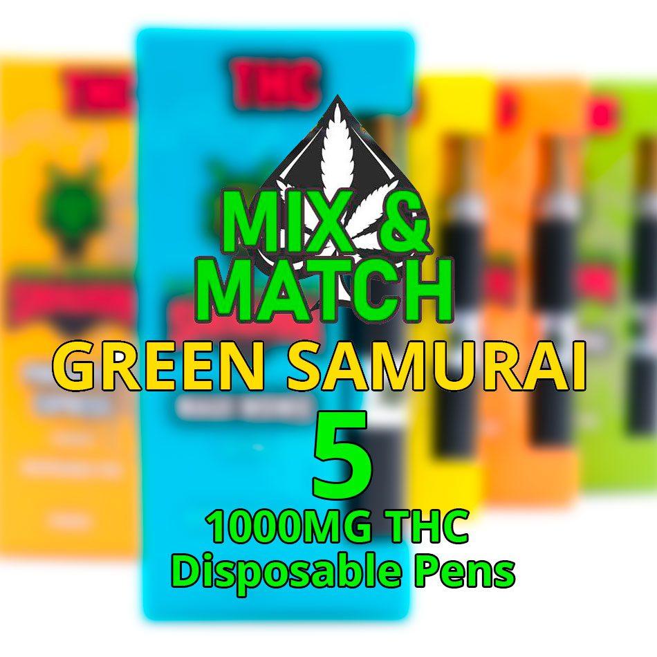 green samurai