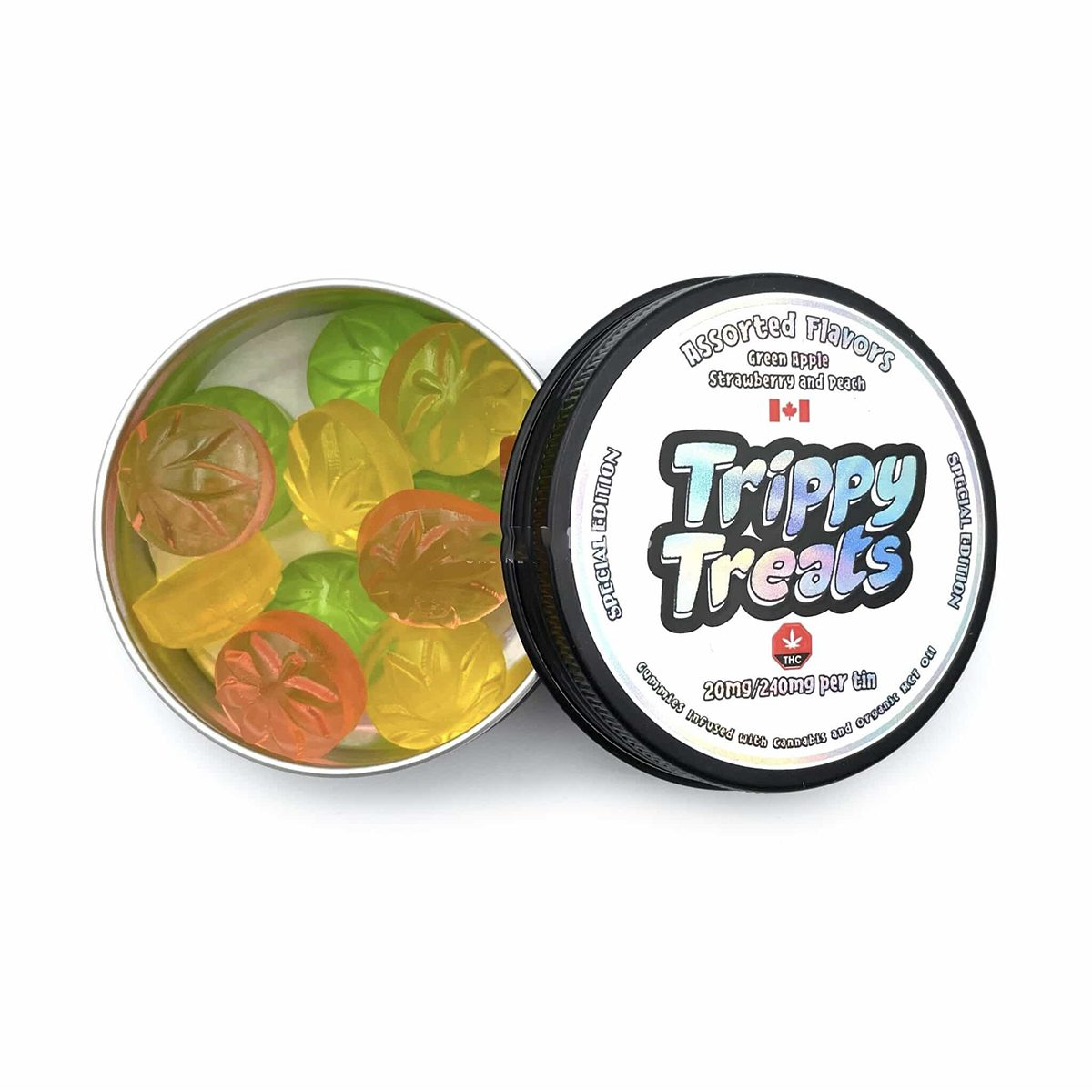 Assorted Flavors 240mg By Trippy Treats
